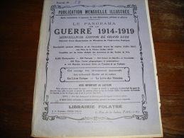 - MILITARIA - 6 Publications Très Bien Illustrées Du N°72 à 77 Sur La Guerre 1914/1919, Merveilleuse édition - Livres, BD, Revues