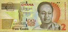 GHANA - REPUBLIC OF GHANA - GH¢2.00 Banknote  Issued 6th March, 2013 - Ghana