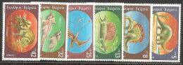 Bulgaria 1990 Nuovo** - Mi.3840/5  Yv.3314/9 - Bulgaria