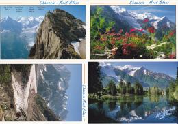 FRANCE - Lot De 4 Cartes Non Circulées - Chamonix Mont Blanc - 2 Scans - - Cartoline