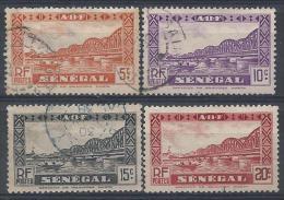 Sénégal N°117 à 120 Obl. - Usati