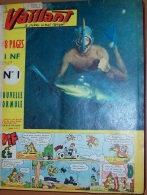 1962 Vaillant Le Journal Le Plus Captivant No 889-902,Album Relie, Bound Album, Album Rilegato - Vaillant