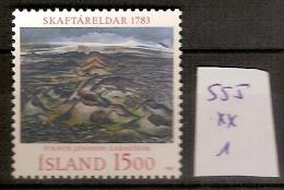 Islande 555 **  Côte 1 € - Ungebraucht