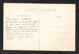 CPA 91 Montlhery  L'Eglise Et Le Vieux Puits  UNUSED + MESSAGE DERRIERE - Montlhery