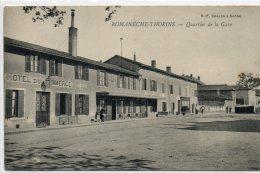 71   ROMANECHE - THORINS                     Quartier De La Gare - Andere Gemeenten