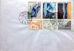 Faroe Islands  Letter      Thorshavn 25-11-1975  ( Lot 2246 ) - Faroe Islands