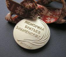 1979 BROTHERS ZNAMENSKY ATHLETICS MEMORIAL SILVER MEDAL / RUSSIA - Athlétisme