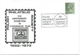 1973. POLISH  PHILATELIC SOCIETY  21st. ANNIVERSARY  EXHIBITION - 1939-44: World War Two