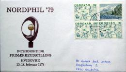 Faroe Islands  Letter To Denmark  Torshavn 26-2-1979  ( Lot 2232 ) - Faroe Islands