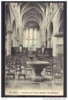 CP BELGIQUE   VAL-DIEU  Int.de L´Eglise Abbatiale  1930. (NC33) - Aubel
