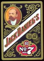 WISKY JACK DANIEL´S , Publicité Sur Carte à Jouer. - Alcohols
