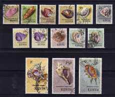 Kenya - 1971/74 - Shells (Part Set) - Used - Kenya (1963-...)