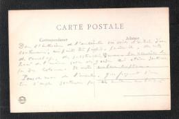 CPA 91  Monthléry Entrée Des Ruines De La Tour + Message Historique Tres Interessant !! - Montlhery