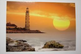 Ukraine. Lighthouse Khersoneskyi . Black Sea. - Faros