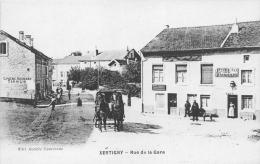 ¤¤  -  XERTIGNY   -  Rue De La Gare  -  Bureau Des Omnibus  -  Epicerie , Mercerie   -  ¤¤ - Xertigny