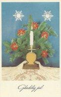 Christmas  - Julekort   Mailed   Denmark    # 02745 - Noël