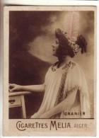 "Photo Image Cigarette Mélia Alger ""Granier"" - Melia"