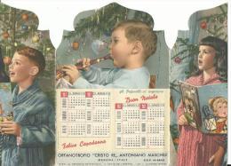"""CAL439 - CALENDARIETTO DA TAVOLO 1961 - ORFANATROFIO """"CRISTO RE"""" ANTONIANO MASCHILE - MESSINA - Calendari"""