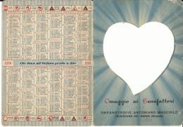 CAL441 - CALENDARIETTO DA TAVOLO 1960 - ORFANATROFIO ANTONIANO MASCHILE - DESENZANO DEL GARDA (BRESCIA) - Calendriers