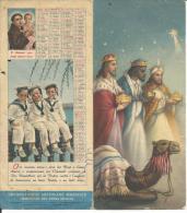 CAL442 - CALENDARIETTO DA TAVOLO 1961 - ORFANATROFIO ANTONIANO MASCHILE - DESENZANO DEL GARDA (BRESCIA) - Calendari