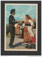 POSTCARD 1950years VIANA DO CASTELO FOLK DANCES FOLKLORE MINHO PORTUGAL - Viana Do Castelo
