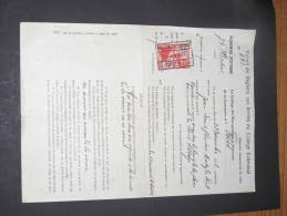 COMMUNE DE FORET - EXTRAIT DU REGISTRE AUX ARRËTES DU COLLEGE ECHEVINAL - ALIGNEMENT - 20/01/33 - Decrees & Laws