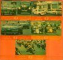 MACAU MACAO SET 4 CARDS CARTES GRAND PRIX MACAU CAR RACE MOTO RACE 1989 GPT N° 2MACN....ANCIENNE CARTE - Macao