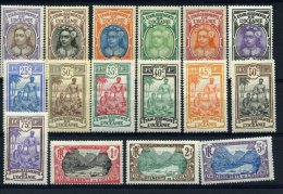 Océanie  établissement_  Tahitienne ( 1913)_ Série N° 24/39 - Oceanië (1892-1958)
