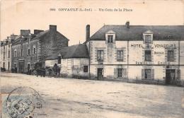 ¤¤  -   1884   -  ORVAULT   -   Un Coin De La Place  -  Hôtel Des Voyageurs  -  Maison Bouvier   -  ¤¤ - Orvault