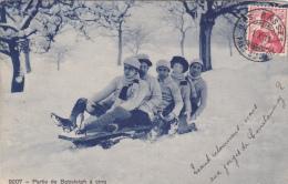 9207 - Partie De Bobsleigh à Cinq - Wintersport