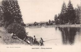¤¤  -   XERTIGNY   -   Etang Jeannon  -  Pêche à La Ligne  -  Pêcheurs      -  ¤¤ - Xertigny