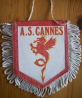 Fanion A.S. Cannes - Habillement, Souvenirs & Autres