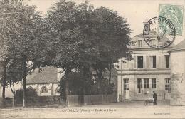 COYOLLES : Ecole Et Mairie - RARE VARIANTE - France