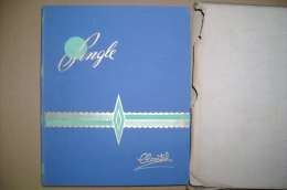 PBX/39 Album CLASSIFICATORE FRANCOBOLLI - SINGLE CLAXITAL Cm.20 X 24,5 - Classificatori