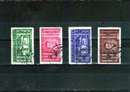 1937 - Centenaire De La Naissance I.Creanga  Mi 524/527 Et Yv 511/514 - Usado