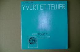 PBX/47 Catalogo Francobolli YVERT ET TELLIER Tome 7 - 1987 Supplementi - Cataloghi