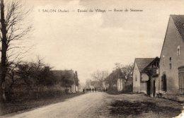 SALON Aube - Entrée Du Village Route De Sézanne - Otros Municipios