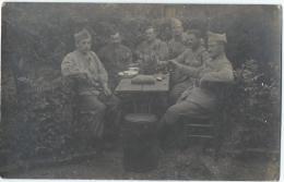 carte postale/Militaria/Le casse-cro�te/ 121�me ?/vers 1910-1920   PH126