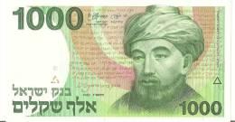 ISRAEL 1000 SHEQALIM 1983 UNC P 49 - Israel