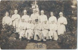carte postale/Militaria/Groupe de Bless�s?/ R�giment 18�me  /Vers 1910-1920        PH132
