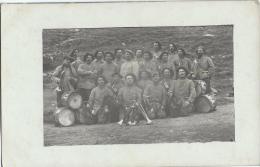 carte postale/Militaria/Groupe de militairesChasseurs Alpins /Musique / R�giment ?  /1Vers 1910-1920        PH136