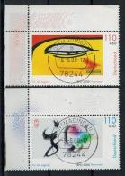 2000 , MiNr. 2120+2121 O, Mit Randstreifen   Zustand: I-II - [7] West-Duitsland