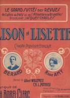 LISON - LISETTE. BERARD. ROSE AMY. - Scores & Partitions