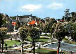 Moselle  -gd  Format -ref L93 - Vue Aerienne - Saint Avold -st Avold - Parc De L Abbaye - Carte Bon Etat - - Saint-Avold