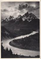 ZS42595 Ansel Adams Teton Rnage And Teh Lake River Grand Teton National Park Wyoming    2   Scans - Etats-Unis