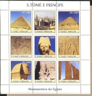 MINT NH STAMPS OF SAO TOME E PRINCIPE  1459  MONUMENTS OF EGYPT - Sao Tome Et Principe