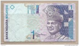 Malesia - Banconota Circolata Da 1 Ringgit - Malesia