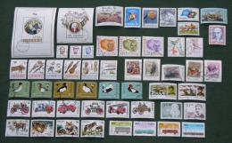 Poland 1985 - Used (o) - Almost Complete Year Set Of 51 Stamps + 2 Blocks - Pologne Polonia Polen --- Zn - 1944-.... République