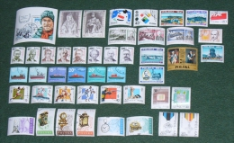 Poland 1988 - Used (o) - Collection Of 45 Stamps + 1 Block - Pologne Polonia Polen --- Zn - 1944-.... République