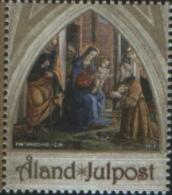 Aland 2013 Christmas Noel Natale Emissione Congiunta Vaticano 1v  ** MNH Complete Set - Aland